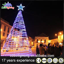 Spiral Light Christmas Tree Outdoor by Lighted Spiral Christmas Tree Prelit Christmas Lamp Post Tree