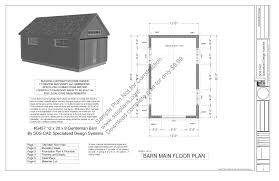 Floor Plan Blueprint 30 U0027x60 U2032 Pole Barn Blueprint Pole Barn Plans