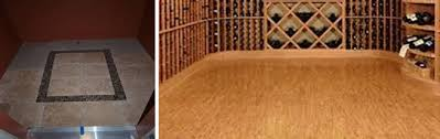 in floor wine cellar what are the wine cellar flooring options to choose from