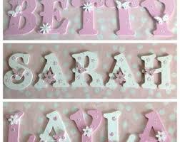 lettre decorative pour chambre b lettre bois etsy