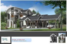 Contemporary Style Kerala Home Design 2222 Square Feet 3 Bedroom Contemporary Style Kerala Home Design