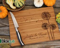 personalize cutting board personalized cutting boards wedding gifts by pegasusparchments