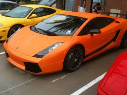 Lamborghini Gallardo Orange - first impression lamborghini gallardo superleggera manic expression