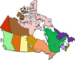 map of the provinces of canada provinces and territories