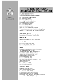 ijoh vol 6 dentistry human tooth