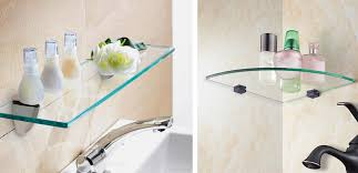 Glass Floating Shelves by Floating Shelf Brackets Archives Reflections