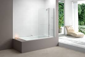 Curved Shower Bath Screen Coram Folding Bath Screen Polyester Waterproof Bath Curtains