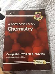 as level chemistry ocr a complete revision amp posot class