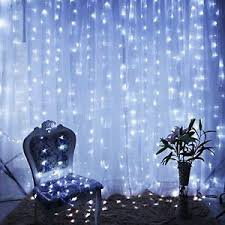 Lights Home Decor 9 8ftx9 8ft 300 Led X Mas Wedding Party String Fairy Curtain