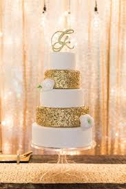 wedding cake gold 24 fab glittery and sparkling wedding cake ideas for 2016