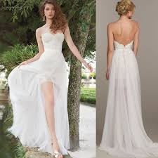 wedding dresses high front low back wedding dresses in front longer in back wedding dresses