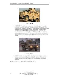 u fouo u s army mine resistant ambush protected mrap vehicles