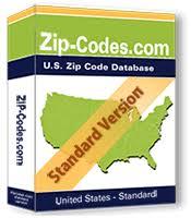 us zip code database list