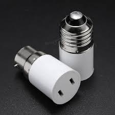 Outdoor Light Bulb Socket Adapter by B22 E27 Light Lamp Bulb Adapter Socket Holder Convert To Us Power