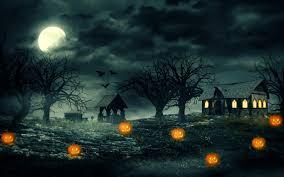 Haunted Halloween by Haunted Wallpapers Wide Wallpapers Net