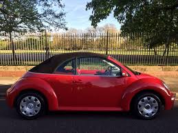 red volkswagen beetle vw beetle 2005 convertible red free 12 month mot in whitechapel