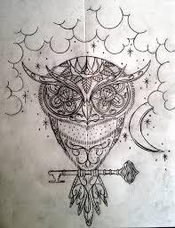 sugar owl tattoo design picture 1 ink pinterest owl tattoo