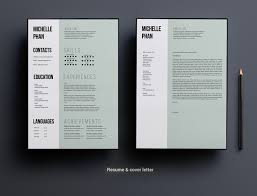 Cv File Resume 1 Page Cv Template Minimal Design Resume Templates Creative