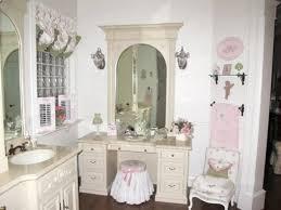 Shabby Chic Bathroom Decor by Shabby Chic Bathroom Decor Regarding Stylish Cream Wall Decor