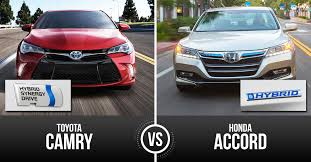 toyota prius vs camry 2015 toyota camry hybrid vs honda accord hybrid