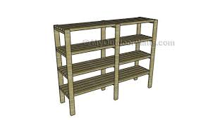 Building Wood Shelves In Shed by 2x4 Shelving Plans Myoutdoorplans Free Woodworking Plans And