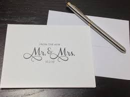 personalized cards wedding 50 best wedding thank you cards images on wedding