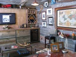 Man Cave Wall Decor Ultimate Man Cave Rustic Ideas Bbddcdeb Surripui Net