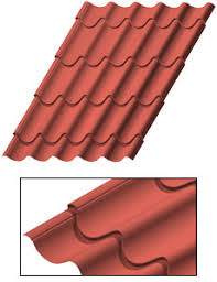 Metal Roof Tiles Style Clay Metal Roof Tiles Metal Roofing Walls And