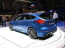 ford focus rs wiki ford focus third generation