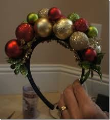 this diy ornament headband is the addition to your