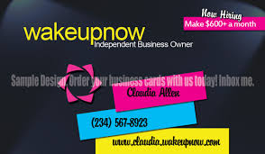 Networking Business Card Examples Wake Up Now Business Card Designs My Graphic Designer