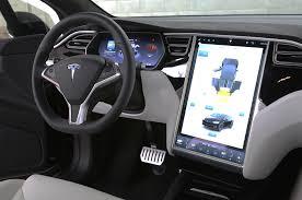 Tesla Interior Model S 2016 Tesla Model X P90d Review