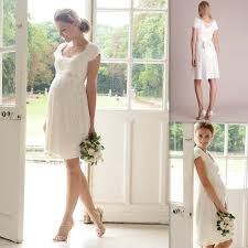 maternity wedding dresses cheap discount knee length maternity wedding dresses cheap scoop