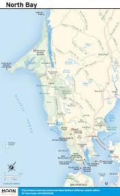 Map Of Bay Area Printable Travel Maps Of Coastal California Moon Com