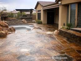 Patio Stone Sealer Review Concrete Paver Sealing In Phoenix Arizona