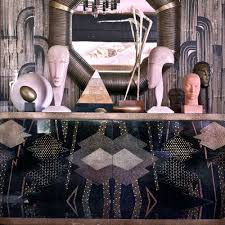 Kelly Wearstler Wallpaper by Art Deco Wallpaper U2014 Art Deco Style