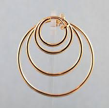 non pierced earrings back non pierced hoop fashion earrings ebay