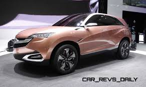 suv acura chinese market suv and crossover concepts acura vs mg vs chery