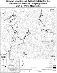 Arizona Counties Map by Feds Eye More Than 6 000 Arizona Acres As Jumping Mouse Critical