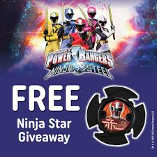 free power rangers ninja steel star gratisfaction uk