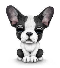 jeff bartel art cute french bulldog puppy print jeff bartels