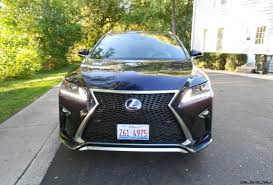 lexus uk military sales 2016 lexus rx450h f sport awd review by ken