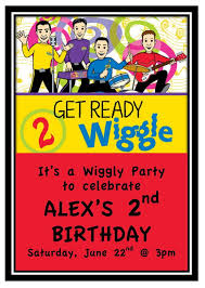 25 best wiggles birthday ideas images on pinterest wiggles