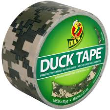 printed duck tape brand duct tape digital camo