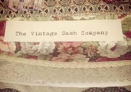 Vintage Wedding Chair Sashes The Vintage Sash Company Beautiful Wedding Loveliness Dotty