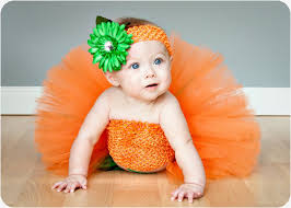 Infant Halloween Costumes Pumpkin Halloween Costumes Girls Popsugar Moms