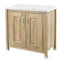 Cloakroom Furniture Vanity Units 906mm Olympia Gloss White Door Vanity Unit Crosby Pan Olympia