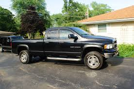 Dodge Ram Truck Bed Used - 2003 dodge ram black 2500 hemi heavy duty slt 4x4 sale