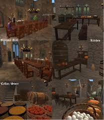 Medieval Castle Floor Plan by Mod The Sims A Medieval Castle