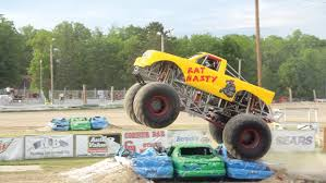 monster trucks monsters invade bemidji speedway hosts monster truck show photo